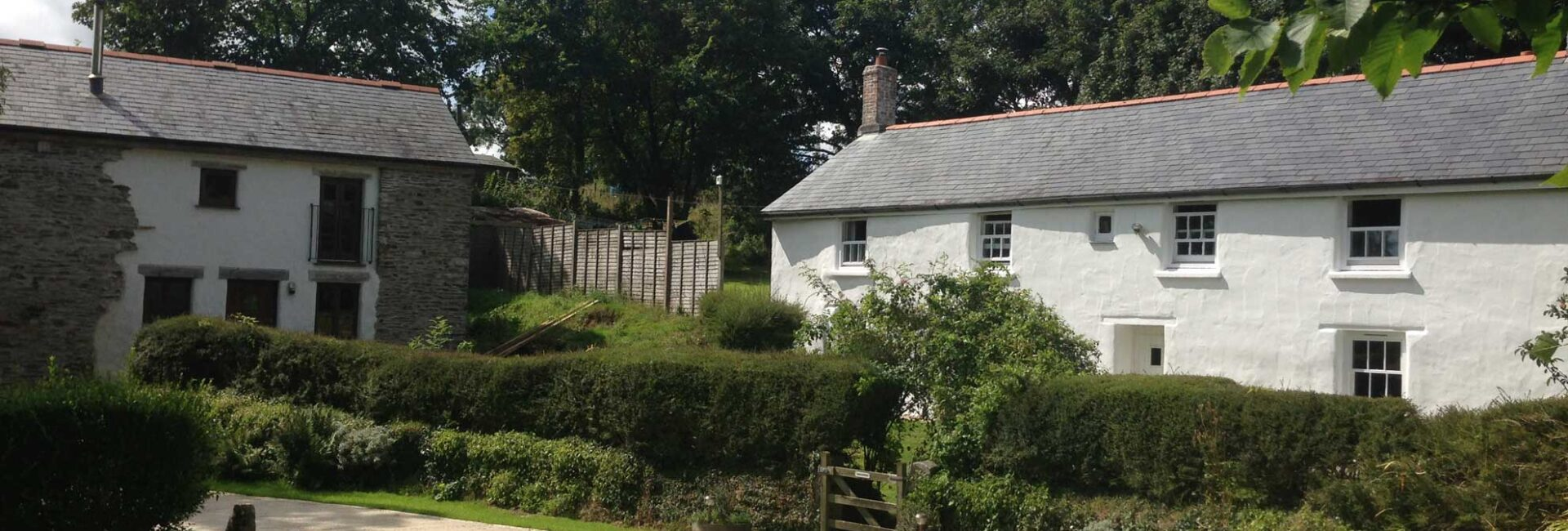 View of fully accessible cottage - Valley View at Treworgans Farm
