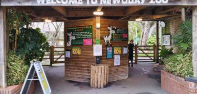 Newquay Zoo Entrance
