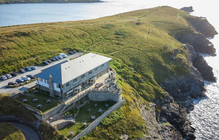Lewinnick Lodge on the Pentire Headland